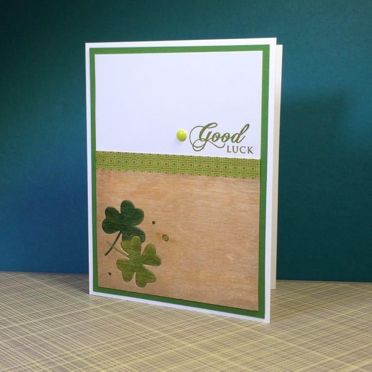 Creating an Inlay Look with Wood Veneer