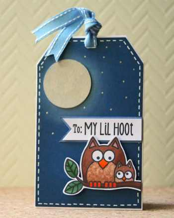 Tag You're It! Challenge: Little Owl Tag