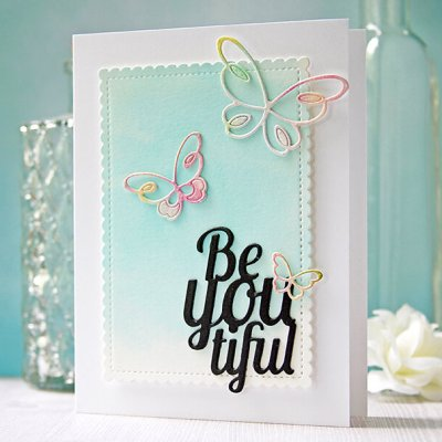 Inspiration: Clean and Simple Watercolor Butterflies