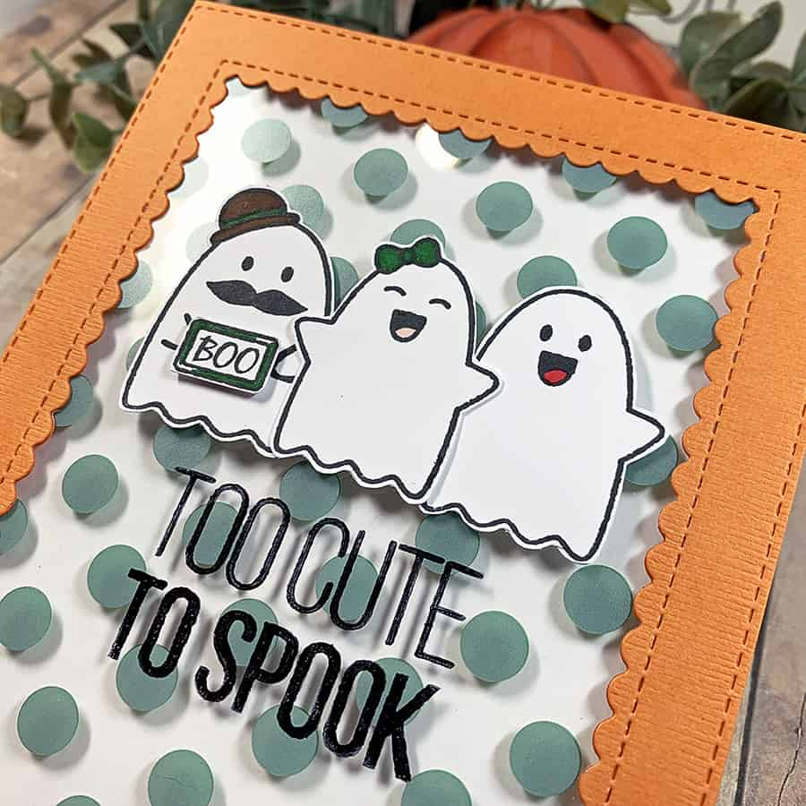 The Cutest Little Trio of Ghosts
