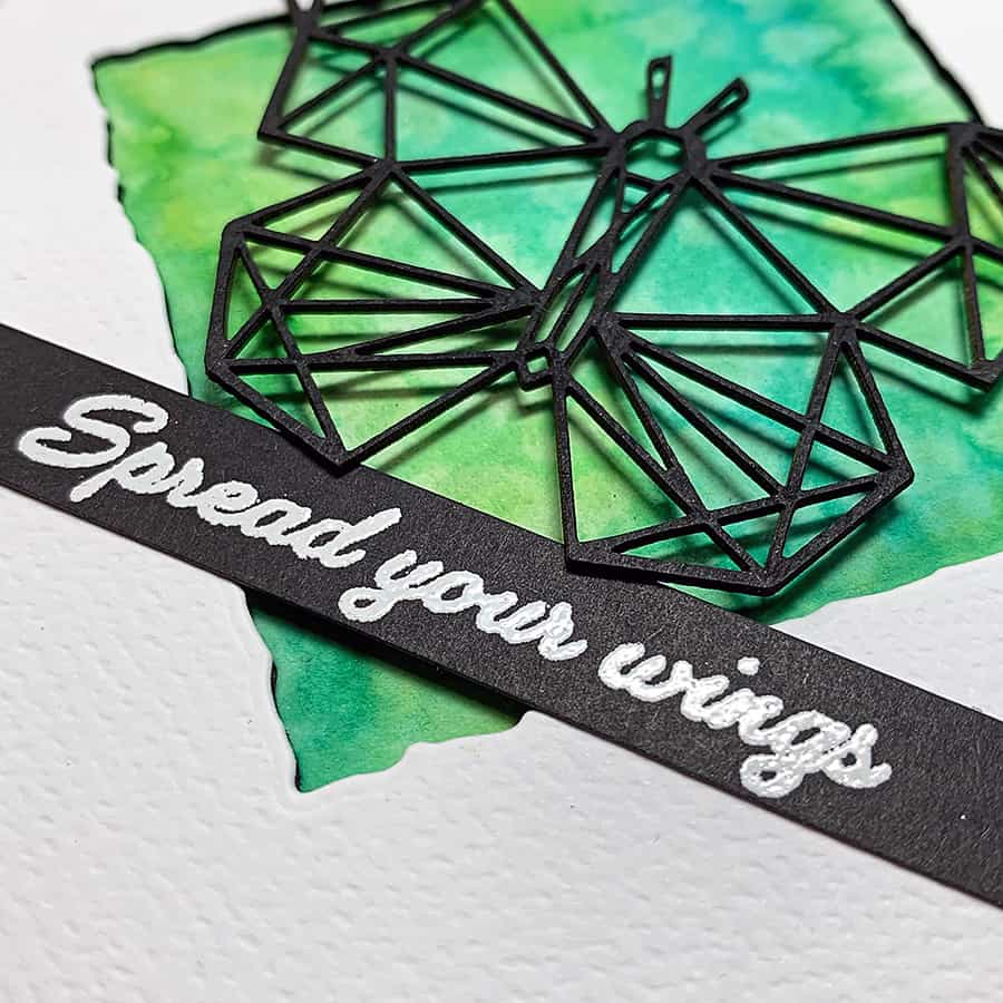 Spread Your Wings + Watercolor Effects