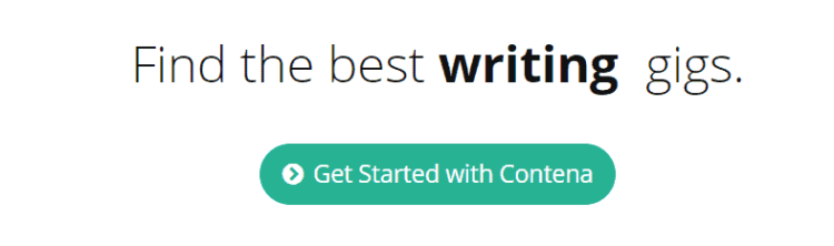 find the best writing gigs and work from home writing jobs at contena