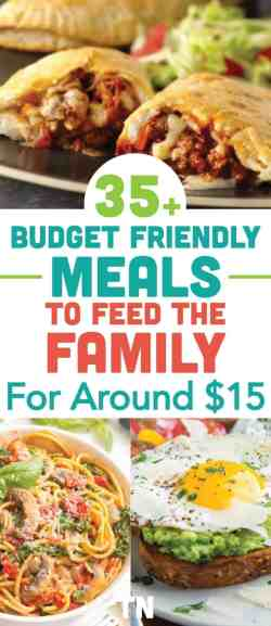 cheap meal ideas, cheap dinner recipes, cheap easy meals on a budget, dinner ideas for tonight