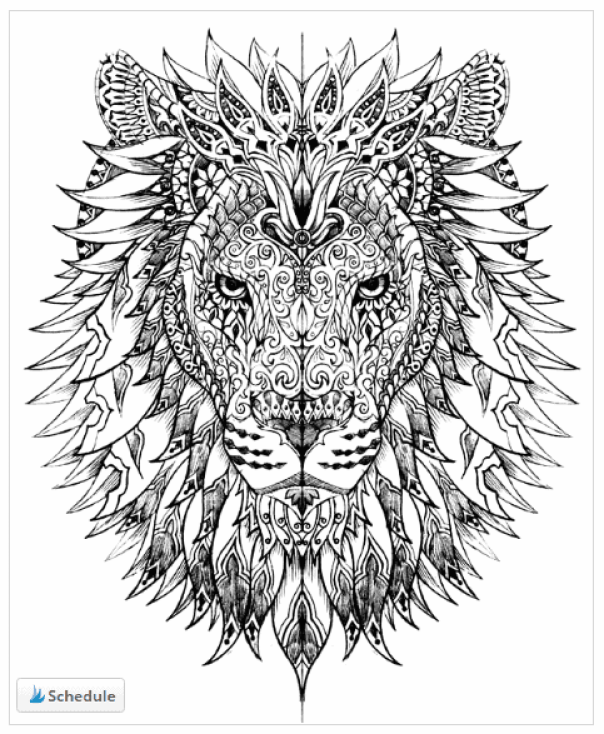 FREE Adult Coloring Pages: 35 Gorgeous Printable Coloring Pages To ...