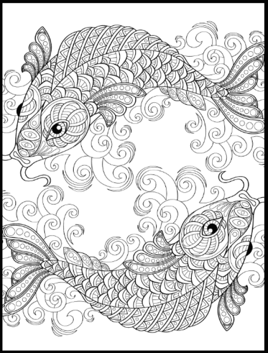 Free Adult Coloring Pages  Gorgeous Printable Coloring Pages To