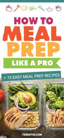 meal prep ideas, how to meal prep