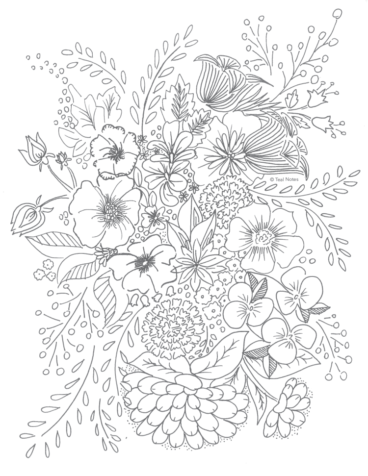 free relaxation coloring pages - photo#22