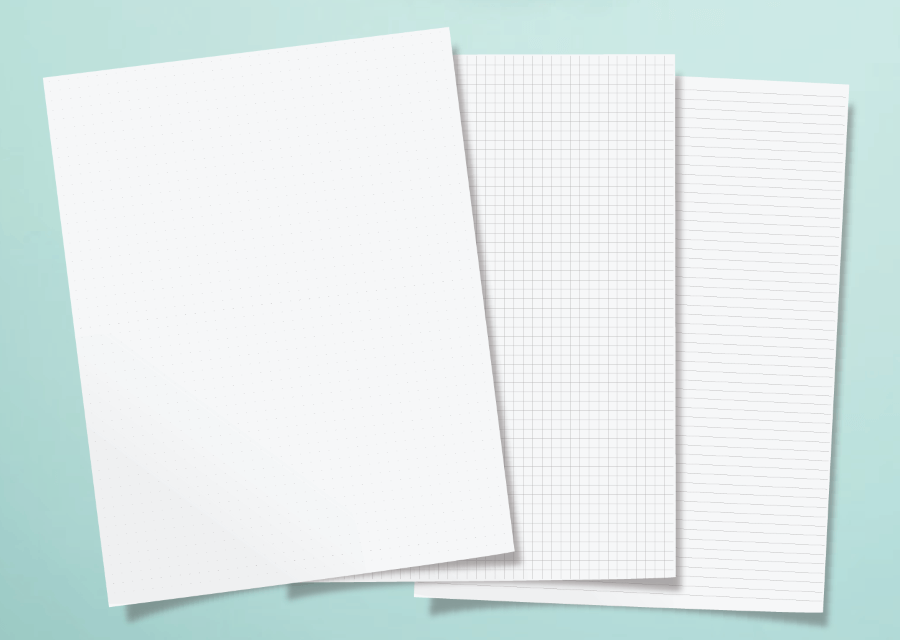 Dot Grid Paper: Free Printable Paper For Bullet Journals And Notes