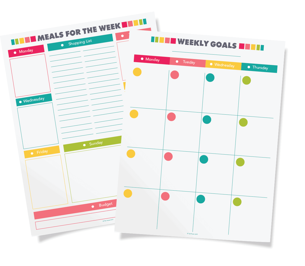 It is an image of Free Printable Life Planner for daily routine
