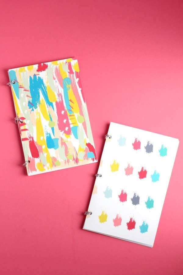 DIY Notebooks with bullet journal paper | DIY Bullet Journals