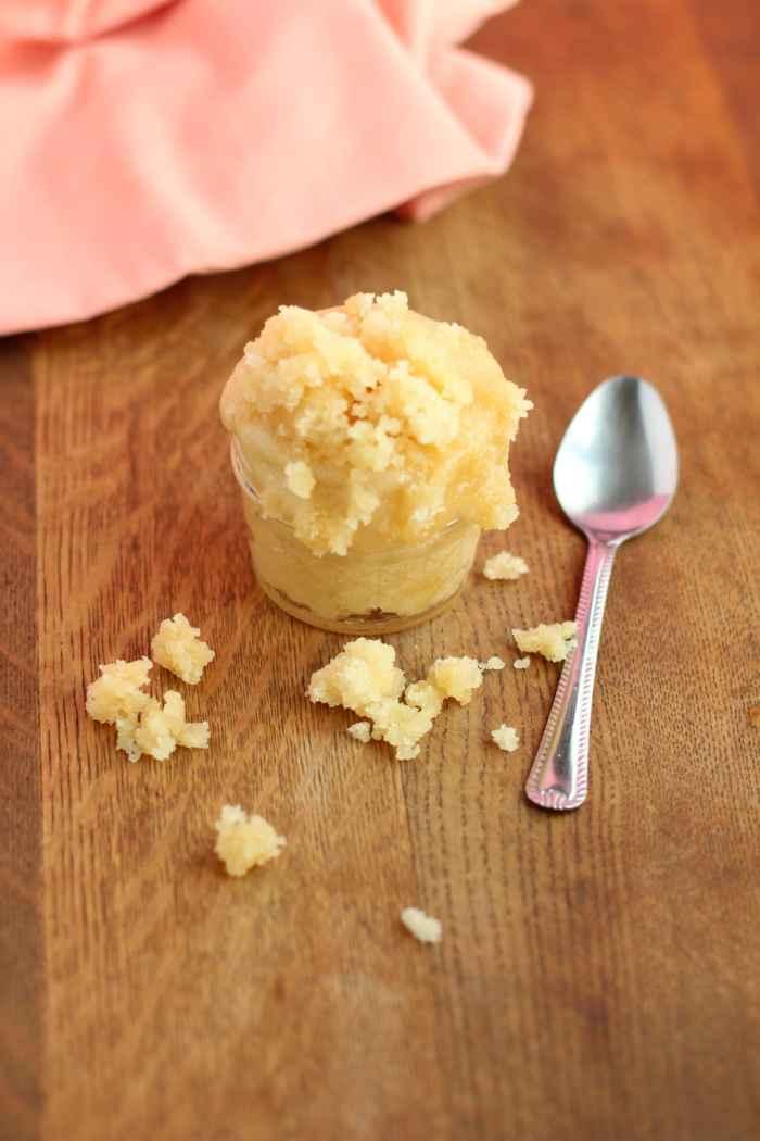 Honey sugar scrub homemade recipe