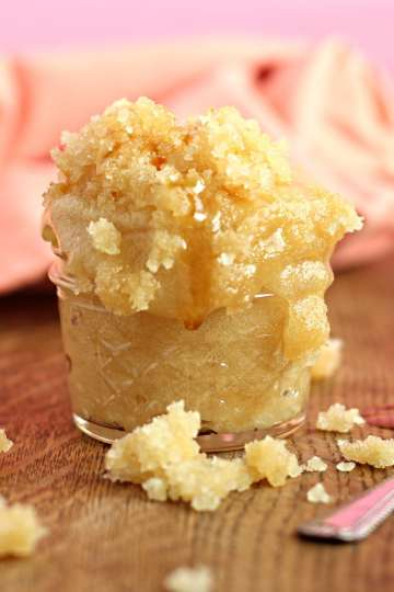 Honey sugar scrub homemade recipe