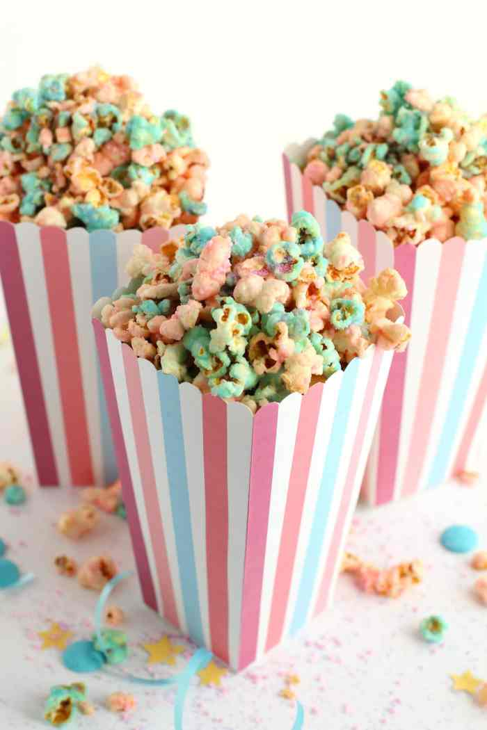 DIY unicorn popcorn recipe | learn how to make unicorn pop