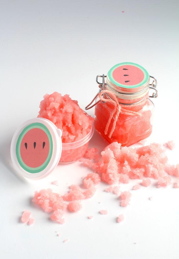 watermelon sugar scrub recipe