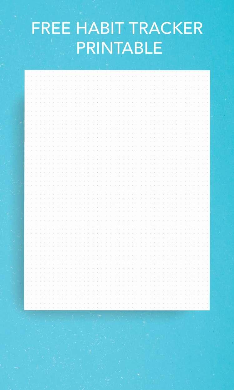 Free Dot Grid Printable