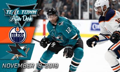 San Jose Sharks vs Edmonton Oilers 11-19-19