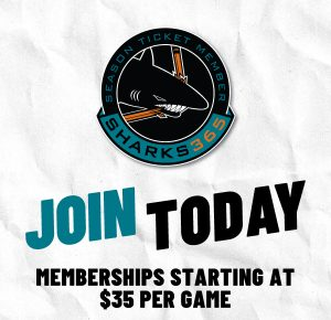 San Jose Sharks 365 Season Ticket Renewal