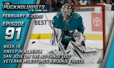 The Pucknologists 91 - San Jose Sharks weekly podcast