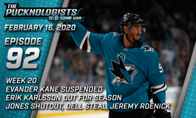 The Pucknologists 92 - San Jose Sharks weekly podcast