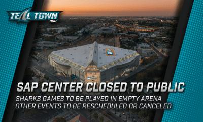 SAP Center Closed