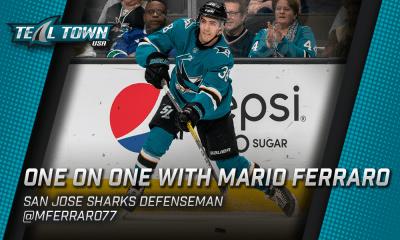 San Jose Sharks Mario Ferraro