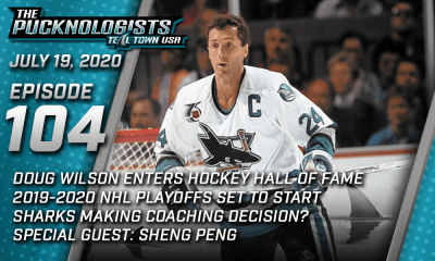 The Pucknologists 104 - A San Jose Sharks podcast