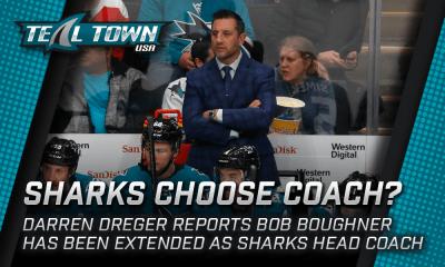 San Jose Sharks coach Bob Boughner