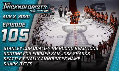 The Pucknologists 105 - A San Jose Sharks broadcast