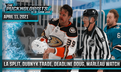 LA Split, Dubnyk Trade, Deadline Doug, Marleau Watch - The Pucknologists 128