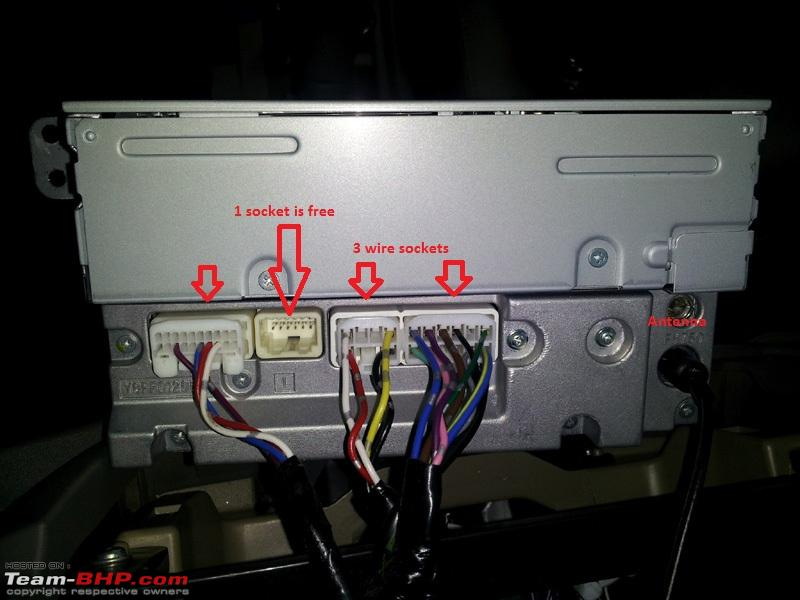 How To Remove Stock Stereo Of Toyota Fortuner