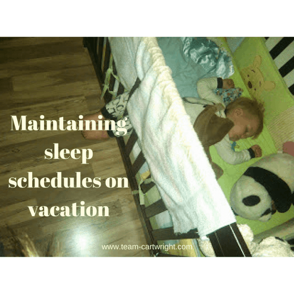 BFBN Week: Maintaining sleep schedules on vacation