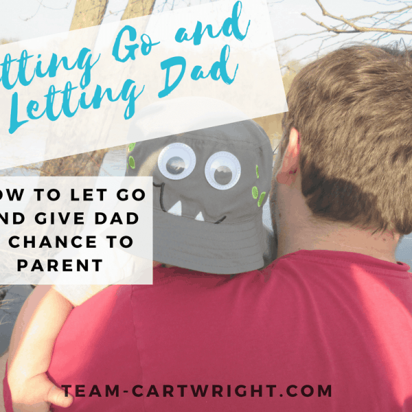 Letting go and letting Dad-BFBN