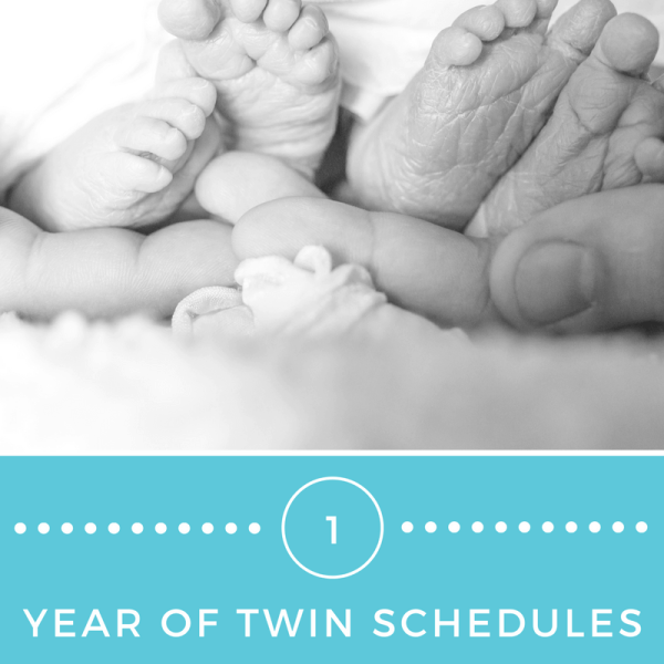 One year of twin schedules