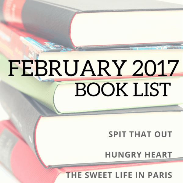 February 2017 Book List