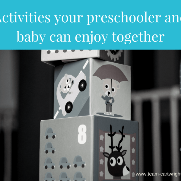 Activities your preschooler and baby can enjoy together