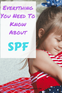 Everything you need to know about SPF and sunscreen. How to pick a sunscreen and how to keep your little one sun safe this summer. Sun Safety   Baby Health and Safety   Best Sunscreens   Kids Summer Health #sunscreen #safety #SPF #kids #baby #toddler #preschooler #sun #safety Team-Cartwright.com