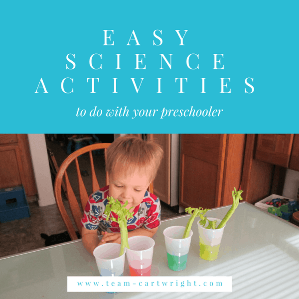 Easy Preschool Science {Vol. 1}
