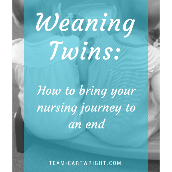 Weaning Twins: How to bring your nursing journey to an end