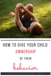 Children behave better when they have a sense of ownership over their behavior. Here is how to use ask and tell to help your child make good choices and behave well.  #askandtell #positiveparenting #positive #parenting #babywise #behavior #toddler #preschooler #child #discipline Team-Cartwright.com