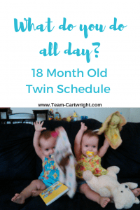 18-month-old schedule for twins. Toddler 18 month schedule.