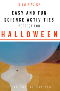 Easy and fun science activities perfect for Halloween! Explore STEM concepts and enjoy holiday fun with these simple low-prep activities. #Halloween #science #learning #activities #STEM #toddlers #preschool #fall #autumn #kids Team-Cartwright.com