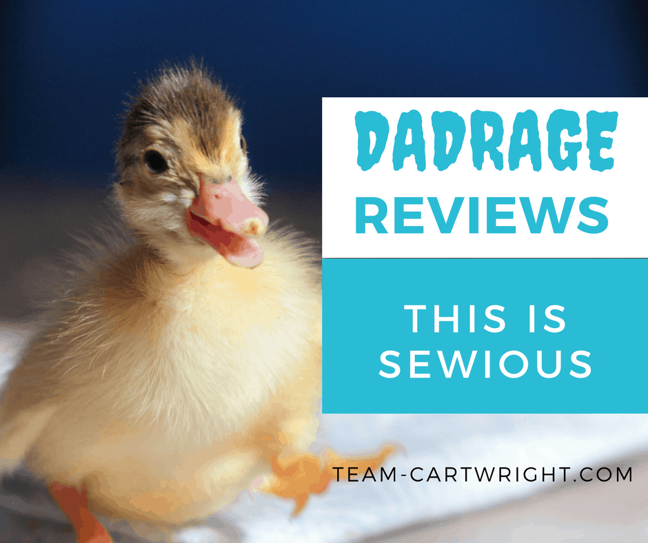Dadrage Reviews This Is Sewious Team Cartwright