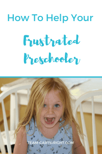 How to help your preschooler when they are frustrated. How to work on preschool social skills. Three year olds | Four year olds | frustration in kids