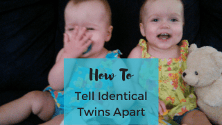 How To Tell Identical Twins Apart