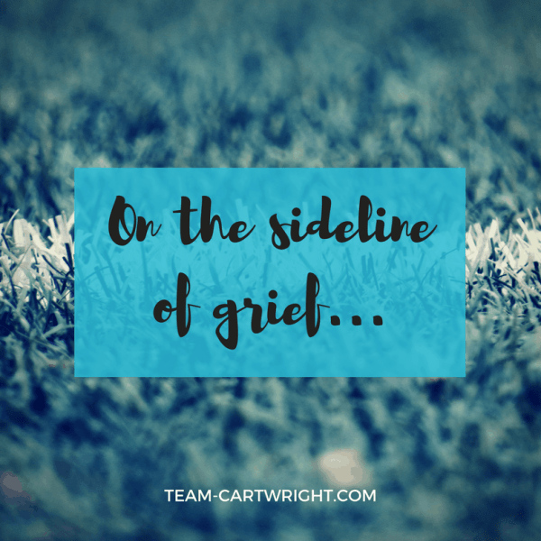 On the sideline of grief
