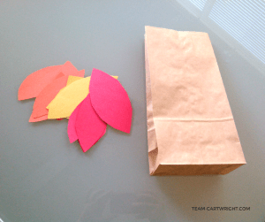 How to make a thankful tree to celebrate Thanksgiving.