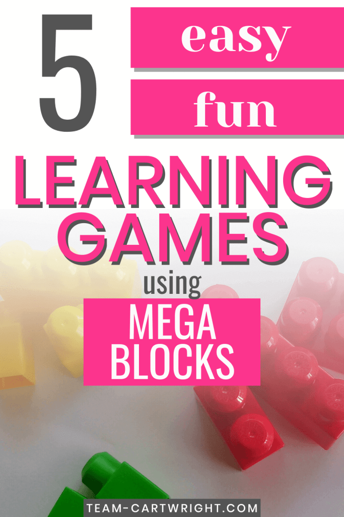 Easy and Fun Learning Games using Mega Blocks