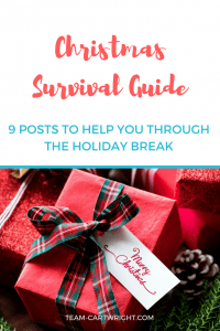 9 posts to get your through this holiday break. #christmas #sleep #learning #activity #baby #toddler #preschooler
