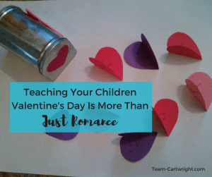 Teaching Your Children Valentine's Day is More Than Just Romance. #kids #emotional #development #easy #Valentine #craft #activity #toddler #preschooler