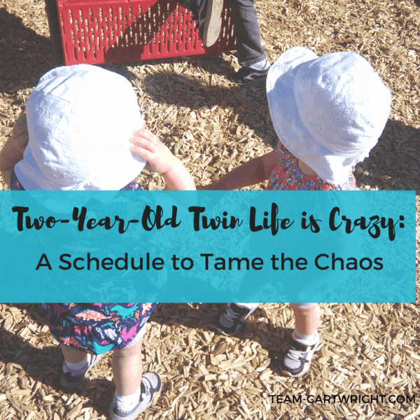 2-Year-Old Twin Life Is Crazy: A Schedule to Tame the Chaos
